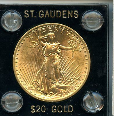 1914-S .9675 oz 90% Gold $20 St. Gaudens Double Eagle Gold Coin RN252
