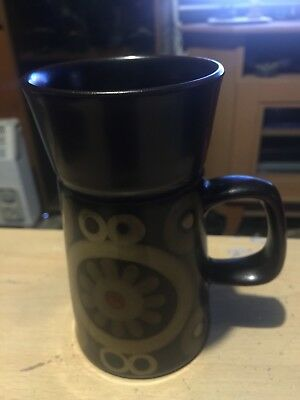 DENBY ARABESQUE LARGE COFFEE MUG 13.75 cm Tall