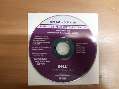 Microsoft Windows Vista Home Premium 64Bit SP1 CD + Lizenz Operating System