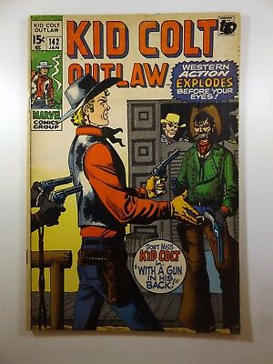 """Kid Colt: Outlaw #142 """"With A Gun In His Back!"""" Sharp VG- Condition!!"""