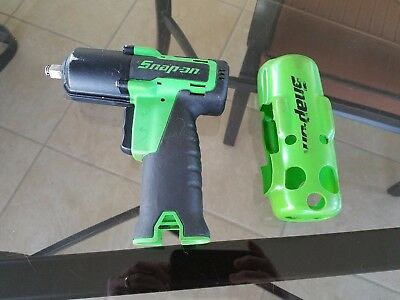 """Snap On Cordless 3/8"""" Impact Wrench 14.4 Volt Lithium Ion #ct761G In Good Shape"""