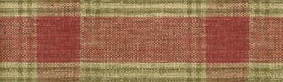 Red and Green Plaid Wallpaper Border Mancave Rustic Country Wall Decor