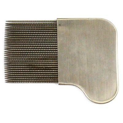 Metal Nit Hair Comb with Handle Remove Head Lice Eggs Effectively Knits Fleas