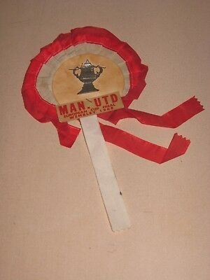 Rosette Manchester United European Cup Final Wembley 1968