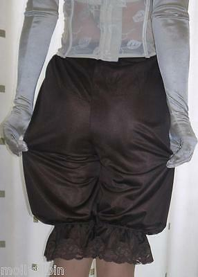 Vintage inspired Victorian~Edwardian style brown bloomers~pettipants~culottes