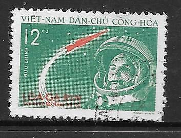 VIETNAM (N) - 1961. First Manned Space Flight - 12x., Used