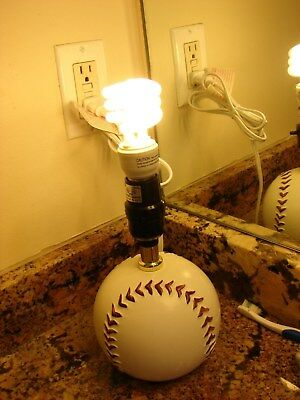 Boys Baseball Lamp For Their Bedroom If You Love Baseball You Will Want This