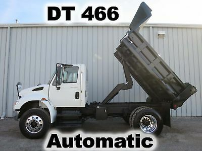 Diesel Dt-466 Automatic 10Ft Contractor Dump Bed Body Truck Low Miles