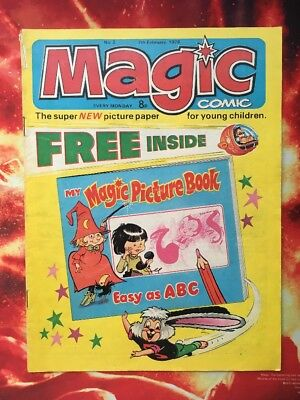 Magic Comic No. 2. 7 Feb 1976.  Dorothy And The Wizard Of Oz
