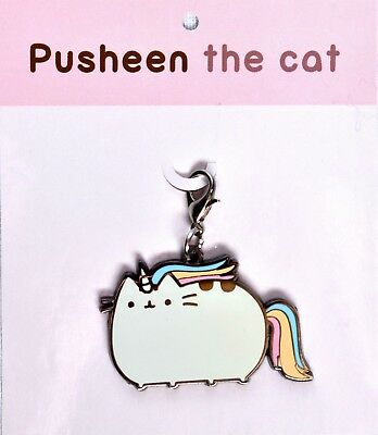 PUSHEEN the Cat Unicorn Keychain / Backpack Charm >NEW<