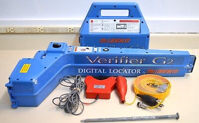 McLaughlin Verifier G2 MPL-H10S utility cable, pipe, underground wire locator