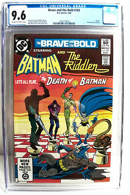 Brave and the Bold #183 CGC 9.6