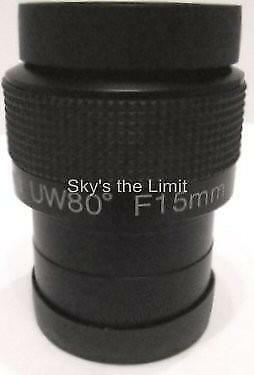 CUSTOMER RETURN - Sky's the Limit 15mm Ultra Wide Angle 80 degree 2'' eyepiece