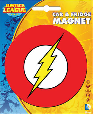 DC Heroes Car Magnet: The Flash Logo