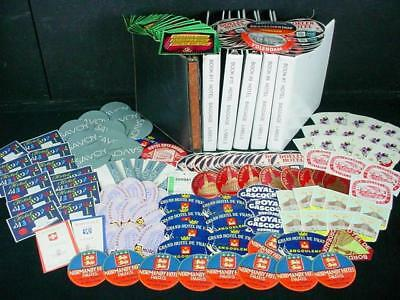 NobleSpirit {3970} Incredible 2,596x Hotel Baggage Labels & Tags Collection