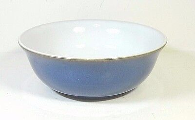 """Denby Imperial Blue Soup Cereal Bowl 6 1/2""""  England New"""