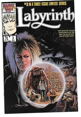Labyrinth Limited Series #3 VFNM Buscema Tanghal David Bowie Movie Adaptation