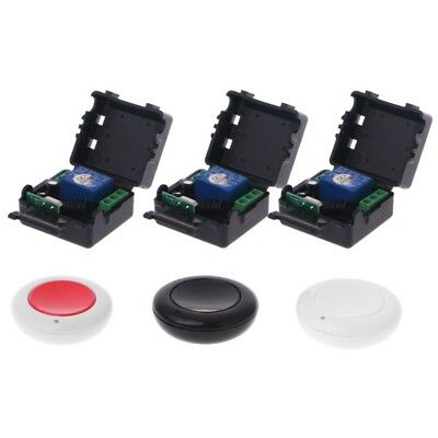DC 9/12/24V 10A Relay 1CH Wireless Remote Control Switch Receiver + Transmitter