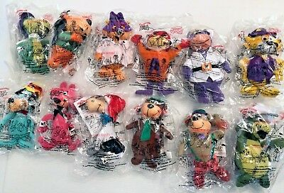Dairy Queen DQ Kids Picknic Food Toy Classic Toons 2000 Complete Set of 12! NIP