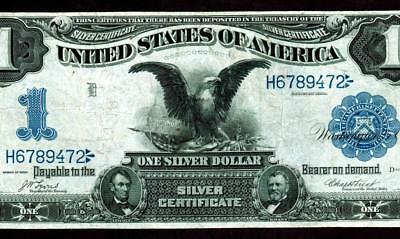 Fr. 227. $1 1899 (( BLACK EAGLE )) Silver Certificate ** MORE CURRENCY FOR SALE