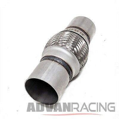 FLEXPIPE-300X14-E Stainless Steel Flex Pipe Exhaust Couplings with Mild St Rev9