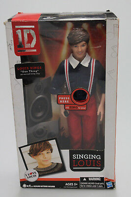 Singing One Direction Doll Louis - Needs new batteries New