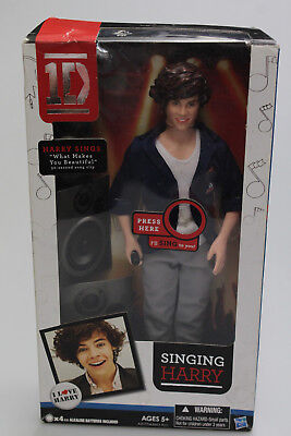 Singing One Direction Doll Harry - Needs new batteries New