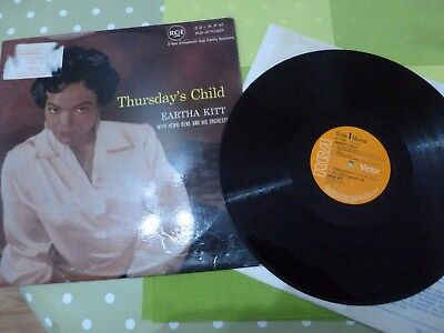 An Eartha Kitt  Long Play Vinyl Record -- Thursday's Child