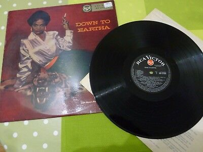 An Eartha Kitt  Long Play Vinyl Record -- Down To Eartha