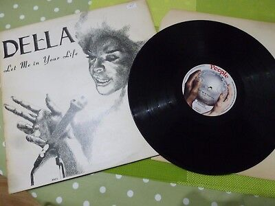 A Della Reese  Long Play Vinyl Record -- Let Me In Your Life