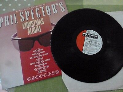 A Phil Spector    Long Play Vinyl Record -- Christmas Album