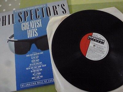 A Phil Spector    Long Play Vinyl Record  -- The Hits