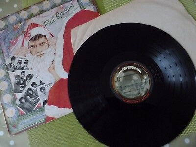 A Phil Spector Long Play Vinyl Record -- Christmas Hits