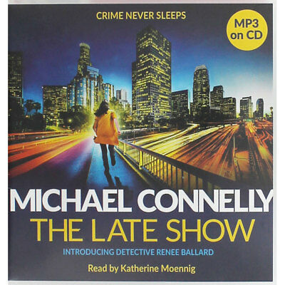 The Late Show - Michael Connelly - Audio CD (MP3 on CD), Audio Books, Brand New