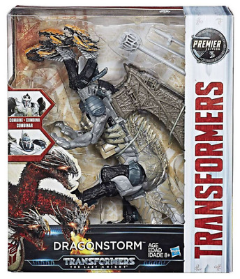 Transformers The Last Knight Premier Edition Leader Class Dragonstorm