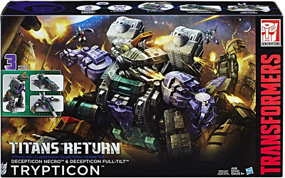 Transformers Titans Return Trypticon Box Set Decepticon