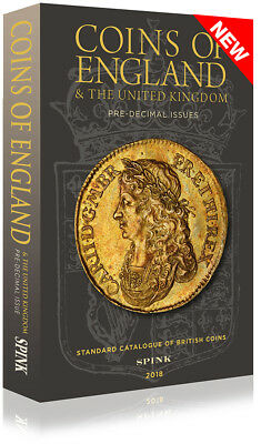 SPINK Coins of England 2018 **NOW IN STOCK** **Free P&P**