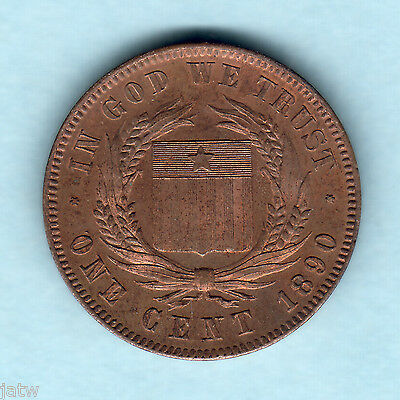 Liberia. 1890 1 Cent - Pattern... Prooflike - Near FDC.. KM-Pn48