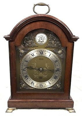 Tempus Fugit Robinson's Shrewsbury Bracket Mantel Clock ELLIOTT LONDON