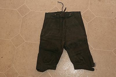 Vintage Antique Leather Lederhosen Boy's Shorts Knickers