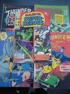 Collection Of Vintage Marvel & Tower Comics 1970s