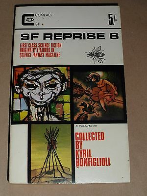 Sci-Fi Reprise 6   ,vintage Sci-Fi Anthology Paperback , Compact  1960's
