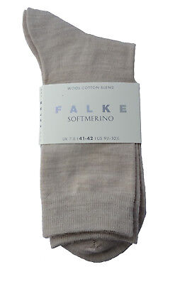 Nr 47488 Art FALKE Softmerino Damen Socken Gr dark navy 41-42,