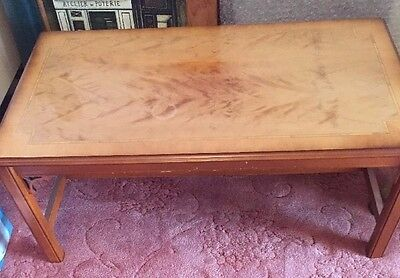 Vintage Coffee Table , make a Superb Restore project CASH & Collect Only