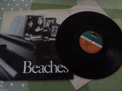 A Bette Midler Long Play Vinyl Record -- Beaches