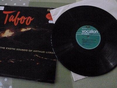 An Arhtur Lyman Long Play Vinyl Record --  Taboo
