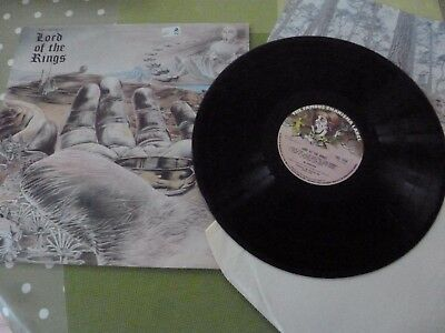 A Bo Hansson  Long Play Vinyl Record --  J.r.r. Tolkien  The Rings