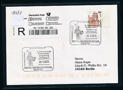 10041) Reco-Brief EF Do-Nominale 51oPF/2,61€ SST Stendal 2006 5.BMA