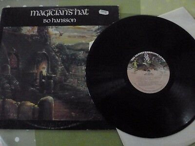 A Bo Hansson  Long Play Vinyl Record --  The Magicians Hat