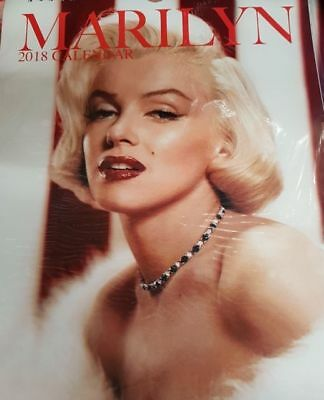 Marilyn Monroe 2018 Calendar *New & Sealed*